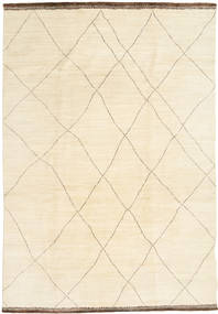 Afghan Exclusive Rug 200X300 Authentic  Modern Handknotted Beige/White/Creme (Wool, Afghanistan)