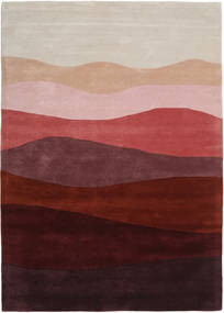 Feeling Handtufted - Wine Rug 160X230 Modern Dark Red/Light Grey (Wool, India)