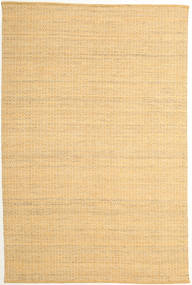 Alva - Dark _Gold/White Rug 200X300 Authentic  Modern Handwoven Dark Beige/Light Brown (Wool, India)