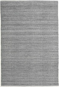 Alva - Grey/Black Rug 200X300 Authentic  Modern Handwoven Light Grey/Light Green (Wool, India)