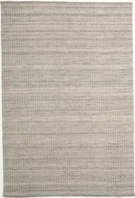 Alva - Brown/White Rug 200X300 Authentic  Modern Handwoven Light Grey (Wool, India)