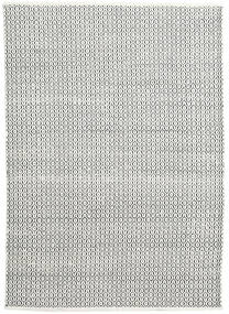 Alva - White/Black Rug 160X230 Authentic  Modern Handwoven Light Grey/Dark Grey (Wool, India)