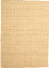 Alva - Dark _Gold/White Rug 250X350 Authentic  Modern Handwoven Dark Beige/Light Brown Large (Wool, India)