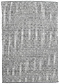 Alva - Dark Grey/White Rug 160X230 Authentic  Modern Handwoven Dark Grey/Light Grey/Light Green (Wool, India)
