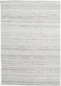 Alva - Grey/White Rug 160X230 Authentic  Modern Handwoven Light Grey (Wool, India)