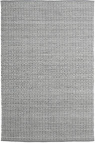 Alva - Dark Grey/White Rug 200X300 Authentic  Modern Handwoven Light Grey/Dark Grey (Wool, India)
