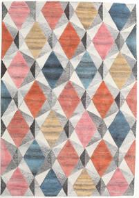 Prisma - Multi Rug 160X230 Modern Light Grey/Light Pink (Wool, India)