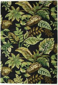 Jungel - Green/Black Rug 200X300 Modern Dark Green/Olive Green (Wool, India)