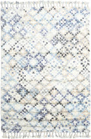 Greta Rug 160X230 Authentic  Modern Handknotted White/Creme/Beige (Wool, India)