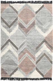 Silvana Rug 140X200 Authentic  Modern Handwoven Light Grey (Wool, India)