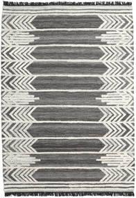 Arrow Rug 200X300 Authentic  Modern Handwoven Dark Grey/Dark Beige (Wool, India)