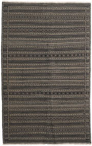 Kilim Persia Rug 160X230 Authentic  Oriental Handwoven Black/Dark Grey (Wool, Persia/Iran)