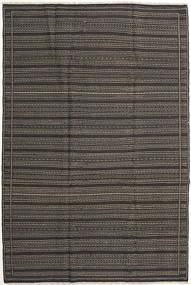 Kilim Rug 200X301 Authentic  Oriental Handwoven Dark Grey (Wool, Persia/Iran)