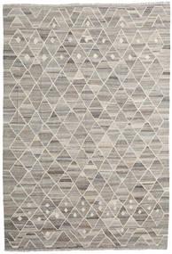 Kilim Ariana Rug 203X296 Authentic  Modern Handwoven Light Grey (Wool, Afghanistan)