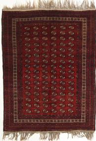 Afghan Khal Mohammadi Rug 134X180 Authentic  Oriental Handknotted Dark Red (Wool, Afghanistan)