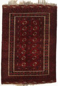 Afghan Khal Mohammadi Rug 128X186 Authentic  Oriental Handknotted Dark Brown/Dark Red (Wool, Afghanistan)