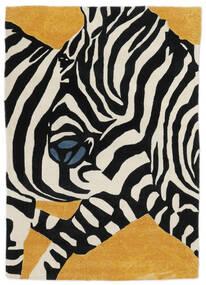 Zebra - 2018 Rug 140X200 Modern Black/White/Creme (Wool, India)