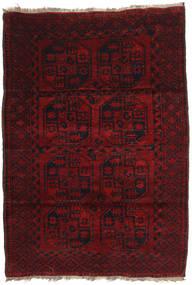 Afghan Khal Mohammadi Rug 120X173 Authentic  Oriental Handknotted Dark Red (Wool, Afghanistan)