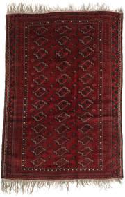 Afghan Khal Mohammadi Rug 123X177 Authentic  Oriental Handknotted Dark Red (Wool, Afghanistan)