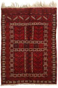 Afghan Khal Mohammadi Rug 153X207 Authentic  Oriental Handknotted Dark Red/Dark Brown (Wool, Afghanistan)