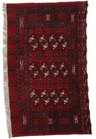 Afghan Khal Mohammadi Rug 116X170 Authentic  Oriental Handknotted Dark Red (Wool, Afghanistan)