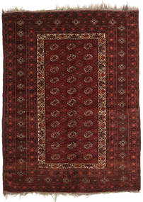 Afghan Khal Mohammadi Rug 137X181 Authentic Oriental Handknotted Dark Red/Dark Brown (Wool, Afghanistan)