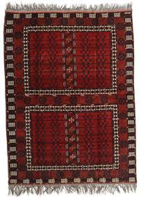 Afghan Khal Mohammadi Rug 167X221 Authentic  Oriental Handknotted Dark Red/Light Grey (Wool, Afghanistan)