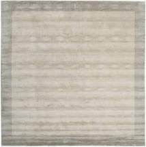 Handloom Frame - Greige Rug 300X300 Modern Square Light Grey Large (Wool, India)