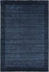 Handloom Frame - Dark Blue Rug 300X400 Modern Dark Blue/Blue Large (Wool, India)