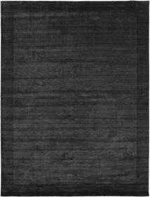 Handloom Frame - Black/Dark Grey Rug 300X400 Modern Dark Grey/Dark Green Large (Wool, India)