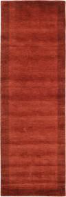 Handloom Frame - Rust Rug 80X250 Modern Hallway Runner  Rust Red/Dark Red (Wool, India)