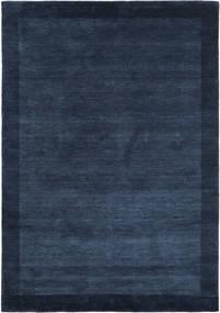 Handloom Frame - Dark Blue Rug 160X230 Modern Dark Blue (Wool, India)