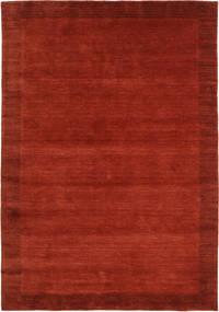 Handloom Frame - Rust Rug 160X230 Modern Rust Red/Crimson Red (Wool, India)