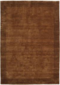Handloom Frame - Brown Rug 160X230 Modern Brown/Dark Brown (Wool, India)