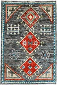 Barchi/Moroccan Berber - Afganistan Rug 202X297 Authentic  Modern Handknotted (Wool, Afghanistan)