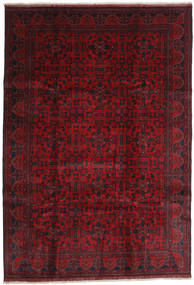 Afghan Khal Mohammadi Rug 203X292 Authentic  Oriental Handknotted Dark Red/Crimson Red (Wool, Afghanistan)