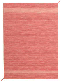 Ernst - Coral/Light_Coral Rug 140X200 Authentic  Modern Handwoven Light Pink/Crimson Red (Wool, India)