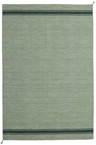 Ernst - Green/Dark _Green Rug 200X300 Authentic  Modern Handwoven Olive Green/Light Green/Pastel Green (Wool, India)