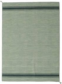 Ernst - Green/Dark _Green Rug 170X240 Authentic  Modern Handwoven Light Green/Pastel Green (Wool, India)