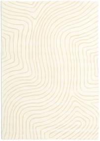Woodyland - Beige Rug 160X230 Modern Beige/White/Creme (Wool, India)