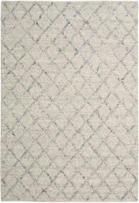 Rut - Silver/Grey Melange Rug 200X300 Authentic  Modern Handwoven Light Grey/Dark Beige (Wool, India)