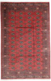 Pakistan Bokhara 3Ply Rug 200X312 Authentic  Oriental Handknotted Dark Red/Dark Brown (Wool, Pakistan)