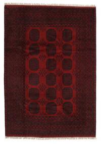 Afghan Rug 203X287 Authentic  Oriental Handknotted Dark Red (Wool, Afghanistan)