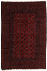 Afghan Rug 196X288 Authentic  Oriental Handknotted Dark Red (Wool, Afghanistan)