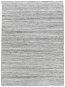 Petra - Light_Mix Rug 200X300 Authentic  Modern Handwoven Light Grey/White/Creme ( India)