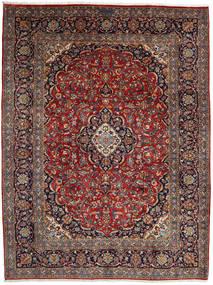 Keshan Rug 255X338 Authentic  Oriental Handknotted Dark Red/Dark Brown Large (Wool, Persia/Iran)