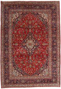 Keshan Rug 246X353 Authentic  Oriental Handknotted Dark Red/Dark Brown (Wool, Persia/Iran)