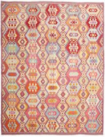 Kilim Afghan Old Style Rug 303X390 Authentic  Oriental Handwoven Large (Wool, Afghanistan)