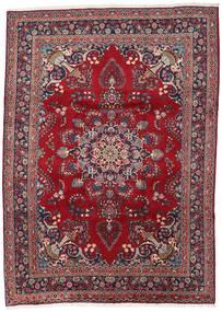 Mashad Rug 248X344 Authentic  Oriental Handknotted Dark Red/Dark Purple (Wool, Persia/Iran)