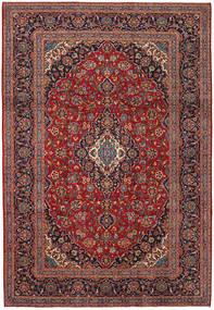 Keshan Rug 241X349 Authentic  Oriental Handknotted Dark Red/Dark Brown (Wool, Persia/Iran)